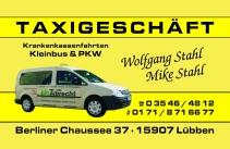 Taxigeschäft Stahl